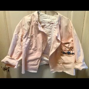 Jackets & Blazers - Destroyed chef coat